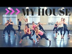 Everything you need to know about zumba My House By Flo Rida. SHiNE DANCE FITNESS - YouTube