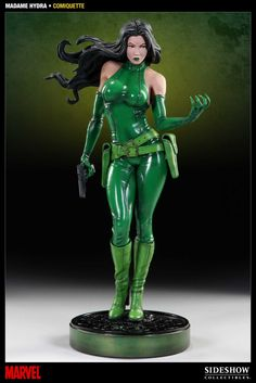 Viper - Madame Hydra Statue -- face could use more detail but her body is sick!