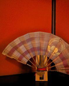 Japanese paper folding fan