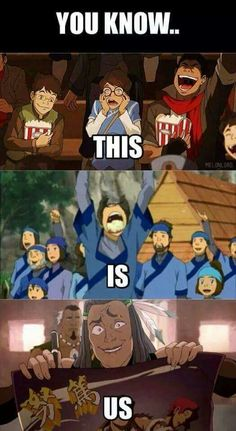 The & now y'all know this is soo true Korra Avatar, Team Avatar, Aang, Fangirl Book, Avatar Cosplay, Legend Of Korra, Book Reader, The Last Airbender, Artist At Work