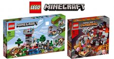 LEGO 21161 Minecraft Crafting Box and 21163 The Redstone Battle sets revealed [News] Redstone, Cool Lego Creations, Lego Minecraft, Lego News, The Brethren, Craft Box, Brick, Battle, Crafting