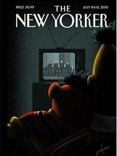 "In the wake of the Supreme Court's DOMA overturn and Prop 8 standstill, the media has gone well over the rainbow to show their support. YouTube's done it, wedding magazines have done it, and now magazine covers have done it, too. Perhaps Sesame Street will listen to that one petition urging the odd-couple ""roommates"" to marry since it's finally legal. Or they'll probably just do an episode showing love doesn't discriminate — which we'd be okay with, too."