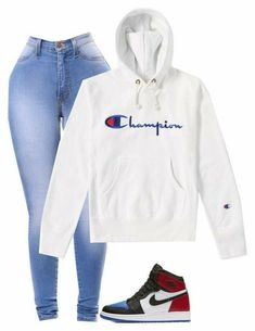 Swag Outfits For Girls, Cute Outfits For School, Teenage Girl Outfits, Cute Swag Outfits, Chill Outfits, Nike Outfits, Teen Fashion Outfits, Jordan Outfits, Trendy Outfits