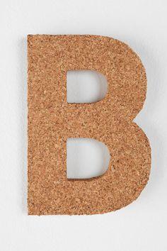 cork letter b