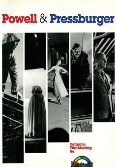 Powell & Pressburger, a cura di Emanuela Martini. Edizioni di Bergamo Film Meeting, 1986. Pp. 135. http://www.bergamofilmmeeting.it/Books/view/3