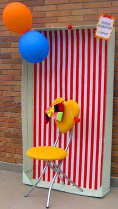 Crea momentos: Fiesta cumpleaños circo. Daniel 3 años.