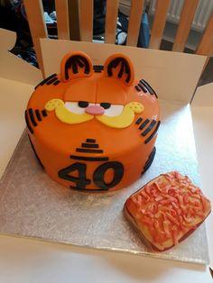 Garfield 40 cake
