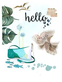 """HelloSummer"" by tzinay on Polyvore featuring etsy, summerstyle, summer2017, etsyfresh and etsylovers"