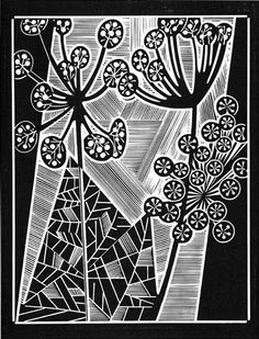 Dill - Relief-block print, The Alcorn Studio & Gallery