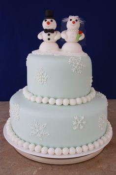 Snowman Wedding 612f Cake Decorating Community Cakes We Bake more at Recipins.com