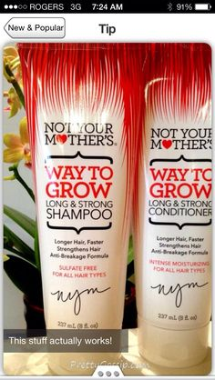 Want Long Healthy Hair? try this cool tip!
