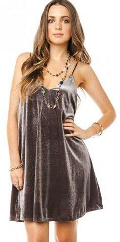 Comfy Velvet Dress