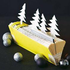 Konzerttickets und Gutscheine werden zu Weihnachten besonders gern verschickt. Anstatt sie in einen schlichten Umschlag zu packen, kann man ein altes Reclam-Büchlein zweckentfremden. Zur Anleitung: Tickets verpacken