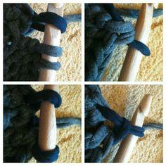Crochet changing color Richardscreations.wordpress.com Follow me