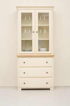 The Studio 002 Welsh Dresser Painted In Saltmarsh Perfect For Small Es And Cosy Cottages Made By Kitchen Company