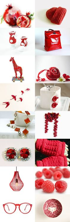 Red inspirations by Anna from lalunadianna on Etsy--Pinned with TreasuryPin.com