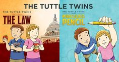Do your kids understand the principles of liberty? They will after reading these books! The Tuttle Twins series of books helps children learn about political and economic principles in a fun and engaging manner. With colorful illustrations and a fun story, your children will follow Ethan and Emily as they learn about liberty!
