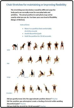 A little too much for the oldies I thin, but still some good ideas for wheelchair exercise.