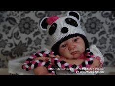 Passo a passo Touca Ursinho Panda Parte-1 - YouTube
