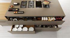 Cucina in abete con isola AXIS 012 Collezione AXIS 012 by Zampieri Cucine   design Stefano Cavazzana
