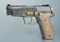 Engraved Sig Sauer P226 by Viljo Marrandi