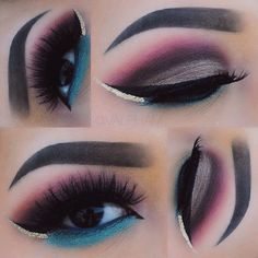 Graphic liner & colors