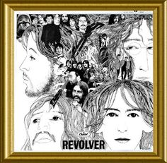 All Beatles Album Covers | Beatles - Alternate Revolver Album Cover