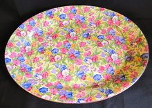 Outstanding Chintz Platter, SWEET PEA, Royal Winton Grimwades