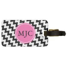 >>>This Deals          	Personalized Monogram Black and White Zigzag Tag For Luggage           	Personalized Monogram Black and White Zigzag Tag For Luggage in each seller & make purchase online for cheap. Choose the best price and best promotion as you thing Secure Checkout you can trust Buy be...Cleck Hot Deals >>> http://www.zazzle.com/personalized_monogram_black_and_white_zigzag_luggage_tag-256054246517430550?rf=238627982471231924&zbar=1&tc=terrest