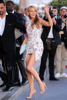 Blake Lively  en el festival de Cannes #redcarpet