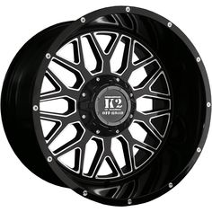 20 inch Aftermarket Wheels & Custom Rims | Custom Offsets Nitto Ridge Grappler, Wheel And Tire Packages, Aftermarket Wheels, Black Rims, Truck Parts, Offroad, K2, Ebay, Things To Sell