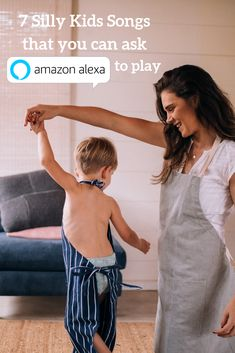 """Let's face it, sometimes you just need a silly song playing loudly to inject some immediate FUN into your home. """"Family Dance Party"""" has become a favorite of my kids and is one of those activities that I'm sure our kids will remember fondly someday.  #supermompicks #sillysongs #kidssongs #danceparty #amazonalexa #amazon #alexa #babyshark #sillykidssongs #momlife #mom #songs #parenting #activities"""