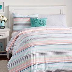 vintage stripe duvet cover twin warm