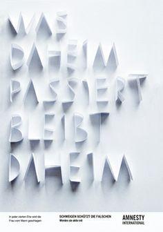 Doppelgänger: Typografie Plakat