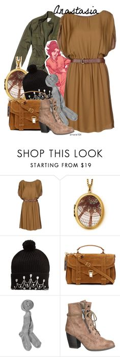 """""""Anastasia"""" by amarie104 ❤ liked on Polyvore featuring Nili Lotan, Disney, MICHAEL Michael Kors, Markus Lupfer, Proenza Schouler and maurices"""