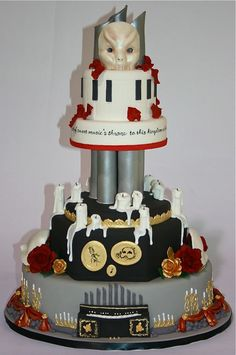 Phantom cake.  Other than the weird mask on top, it's pretty awesome!