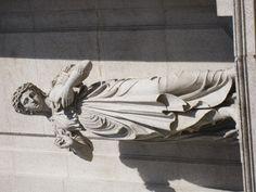 Humility statue