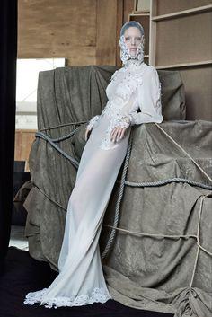 Sfilata Francesco Scognamiglio Parigi - Alta Moda Autunno-Inverno 2017-18 - Vogue