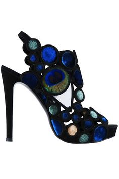 Pierre Hardy Heels: Adorable, looks like a stained glass window in an old church. Pierre Hardy, Pretty Shoes, Beautiful Shoes, Awesome Shoes, Zapatos Shoes, Shoes Heels, Sexy Heels, Crazy Shoes, Me Too Shoes
