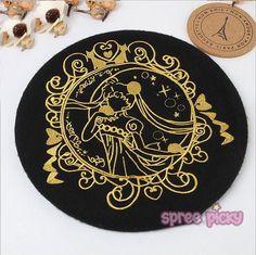 SpreePicky - 5 Colours [Sailor Moon] Princess Serenity Beret Hat SP164718 Price…