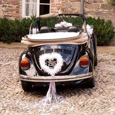 Hochzeitsauto schmücken - Große Bildergalerie
