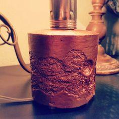LAMPARA CURUXA_detalle acabado relieve#cobre
