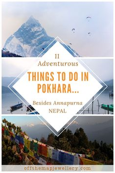 Pokhara is a beautiful lakeside town near the Annapurna Circuit in Nepal. Pokhara is a haven for adventure lovers, spiritual seekers and nomadic travellers with an abundance of activities centred around Phewa Lake and the majestic Himalayan Mountain range. In this post, we are covering 11 adventurous things to do in and around Pokhara other than the famous Annapurna circuit. #adventuretravel #adventure #nepal #pokhara #travelnepal #hiking #himalayas #thingstodoinnepal World Most Beautiful Place, Beautiful Places To Visit, Travel Nepal, Asia Travel, Travel Guides, Travel Tips, Travel Destinations, Nepal Culture, Adventurous Things To Do