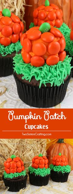 These Halloween Pumpkin Patch Cupcakes are super adorable Halloween cupcakes and very easy to make. They are a great Halloween dessert for a neighborhood party or a fun classroom Halloween treat. Pin this adorable Pumpkin dessert for later and follow us for more fun Halloween Food Ideas. Shared by Where YoUth Rise