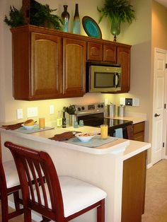 Decor Using Upper And Over Cabinet Lighting Like This Kitchen Is A