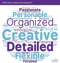 What makes a great event organizer