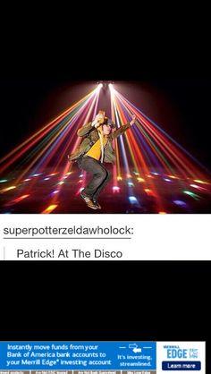 Patrick! At The Disco