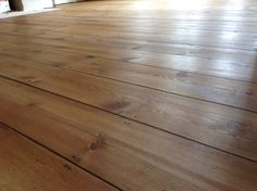 Our pine floor with osmo antique oak oil