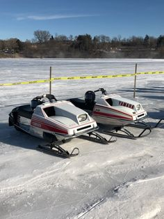 Vintage Sled, Vintage Racing, Snow Machine, Snow Fun, Snowmobiles, Old And New, Yamaha, Old School, Jet