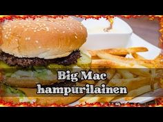 Big Mac from the scratch! Making own Big Mac's is easy to do and tastes so much better! Actually this is a big tribute for Big Mac. Big Mac, Hamburger, Bbq, Ethnic Recipes, Youtube, Food, Kitchens, Barbecue, Barbecue Pit